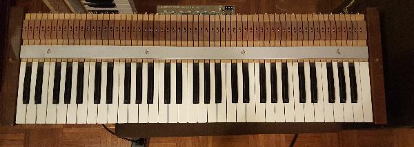 Laukhuff Wooden Organ Keys