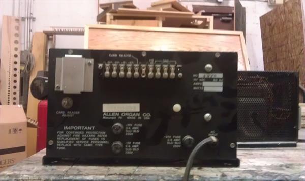 Allen 27 V Power Supply #905-0110-3